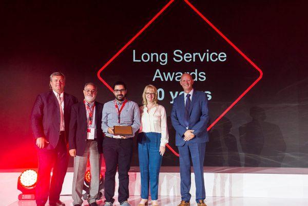 gestetner long service award dinos kridiotis